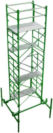 Church scaffold model