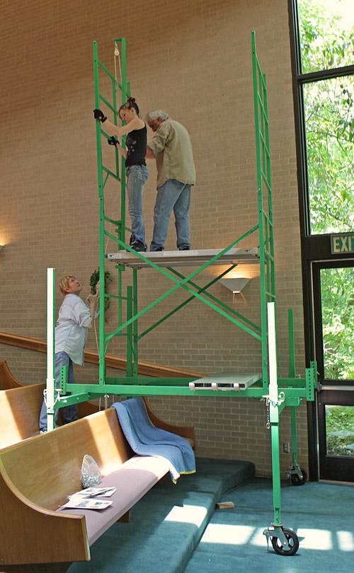 Lightbulb ladder alternative