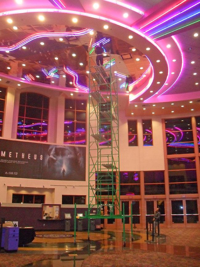 Theater scaffolding